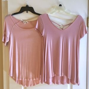 Soft Pink Shirt Bundle